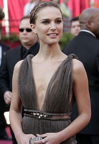 Natalie Portman, en los Oscar de 2005.