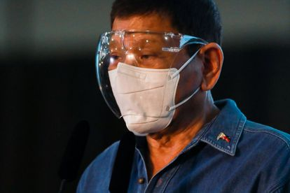 El presidente filipino Rodrigo Duterte este sábado en Manila.