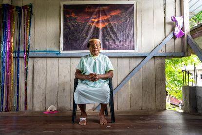 Celestino Piaguage es uno de los fundadores de la comunidad Siekopai de San Pablo de Kantesiya, que convive desde hace años con el problema de la contaminación ambiental.