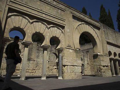 Edificio califal superior de Medina Azahara.