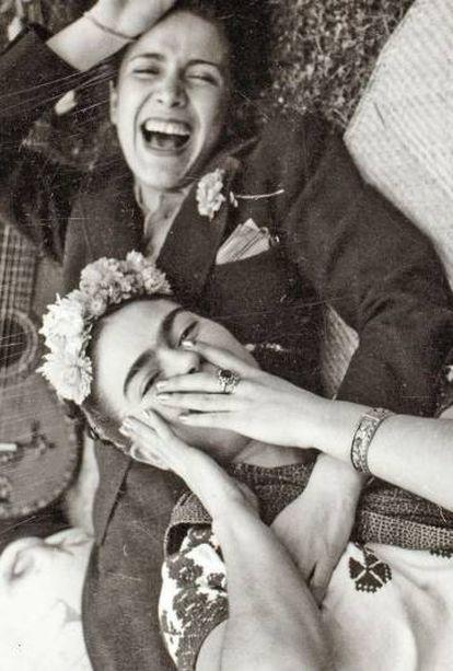 Chavela y Frida Kahlo