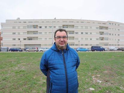 Eduardo Villarramiel, en Valladolid el pasado 13 de noviembre.