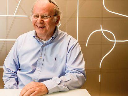 Elie Horn, en sus oficinas de São Paulo.