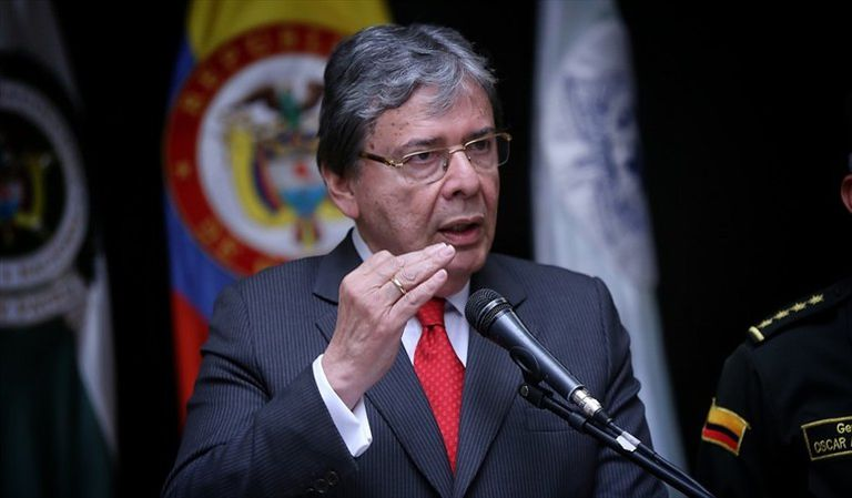 El ministro de Defensa de Colombia, Carlos Holmes Trujillo, en una imagen de archivo.