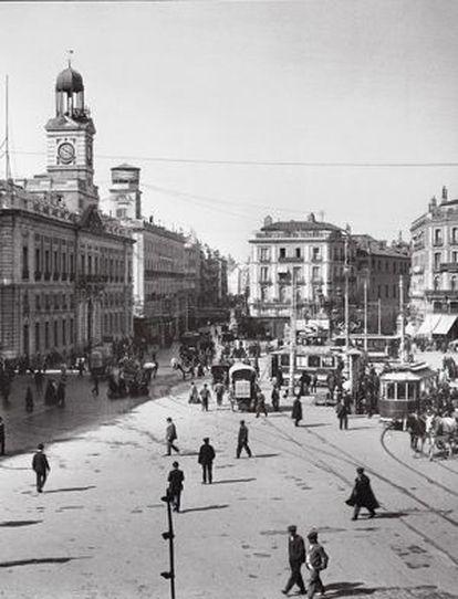 La Puerta del Sol, en 1906.