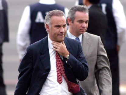 El abogado Juan Collado, en 2004, en Ciudad de México.