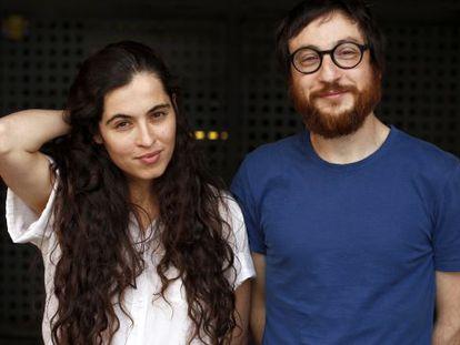 Sílvia Pérez Cruz y Raül Fernandez Miró, fotografiados ayer en Madrid.