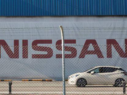 Planta de Nissan en la Zona Franca de Barcelona.