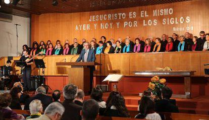 El pasado 31 de octubre, TVE retransmitió el Culto de la Reforma desde una iglesia evangélica.