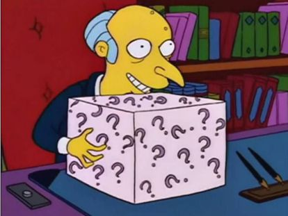 Fotograma de los Simpson.