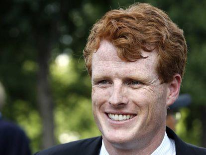 Joe Kennedy, congresista de Massachusetts, nieto de Bob Kennedy.