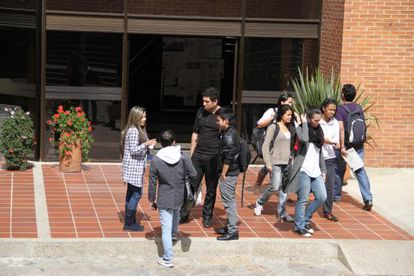 Estudiantes universitarios en Colombia