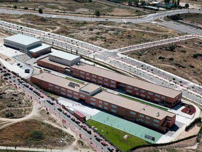 El colegio concertado Peñalvento, en Colmenar Viejo, uno de los ocho centros del grupo EduCare en la Comunidad de Madrid.