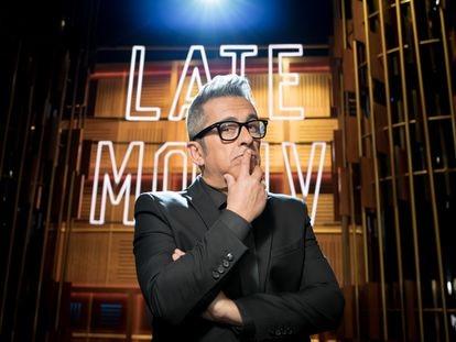 Andreu Buenafuente, en el plató de su programa 'Late Motiv'.