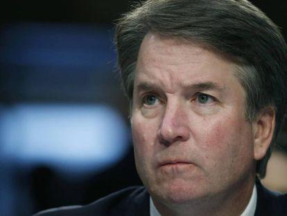 El juez Brett Kavanaugh, designado por Trump para el Supremo.