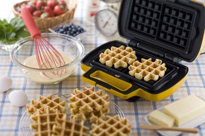 Fáciles de limpiar y de utilizar, estas gofreras son perfectas para preparar desayunos o meriendas rápidas.