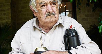 Mujica en Anchorena, una finca de más de mil trescientas hectáreas que un argentino regaló al Gobierno uruguayo para que fuera la residencia de verano del presidente.