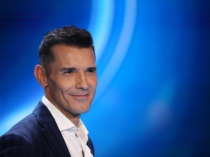 Jesús Vázquez durante la presentación del programa Idol Kids en Madrid, a finales de octubre de 2019.