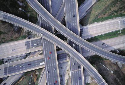 Autopista 407 ETR en Toronto, Canadá.
