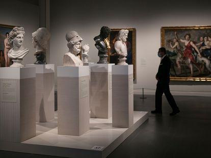 Exposición 'Arte y mito. Los dioses del Prado en el CaixaForum'.