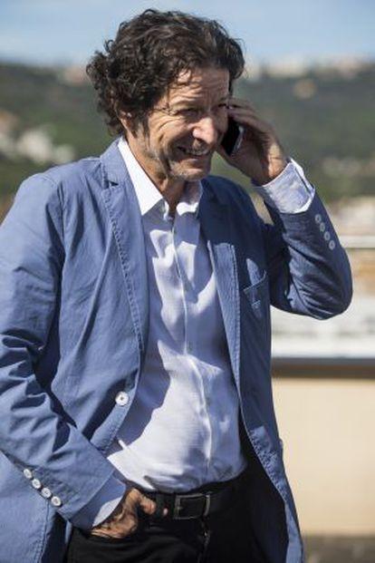 Jorge Zepeda Patterson, ganador del Premio Planeta 2014, con la novela 'Milena o el femur más bello del mundo'.