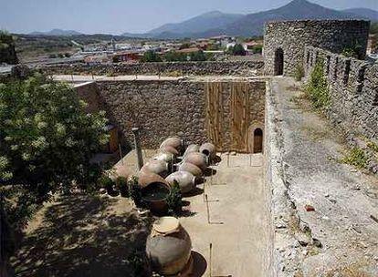 El castillo de la Coracera, en San Martín de Valdeiglesias, recién restaurado.