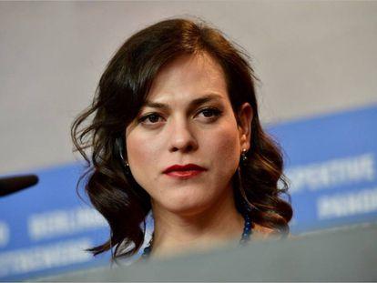 La actriz Daniela Vega.
