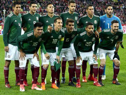 El equipo mexicano en noviembre pasado.