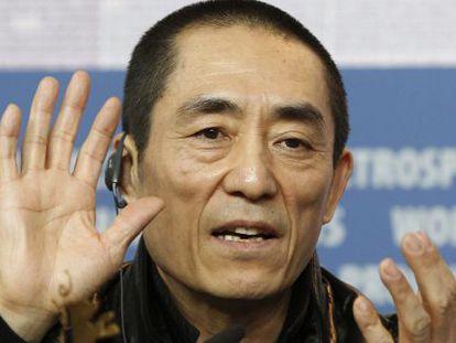 El cineasta chino Zhang Yimou.