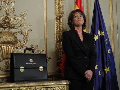 La exministra de Justicia, Dolores Delgado.