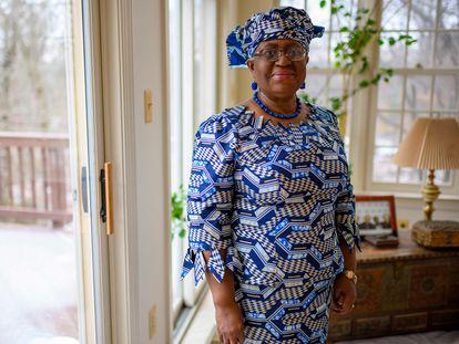 Ngozi Okonjo-Iweala, en una de las imágenes distribuidas este lunes por la OMC.