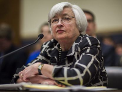 Yellen compareció esta semana ante el comité de servicios financieros de la Cámara de Representantes.