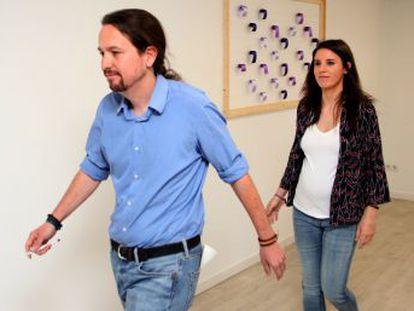 Los dirigentes de Podemos comparecen tras la polémica por la compra de un chalé de más de 600.000 euros