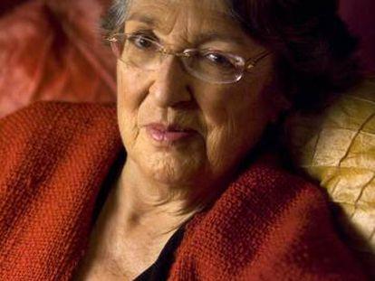 La escritora Esther Tusquets.