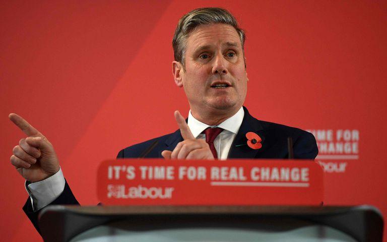 El nuevo líder del Partido Laborista británico, Keir Starmer, el pasado noviembre.