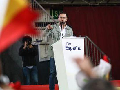 El líder de Vox propone perseguir a los que presten ayuda humanitaria a los inmigrantes irregulares