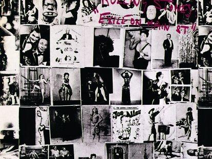 Portada del disco de los Rolling Stones 'Exil on Main St.'.