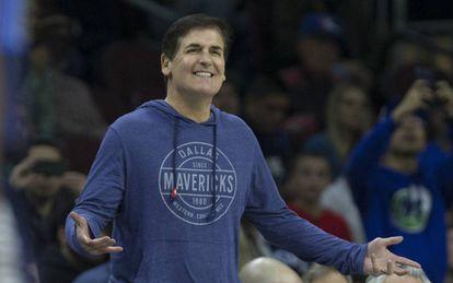 Mark Cuban, propietario de los Mavericks.