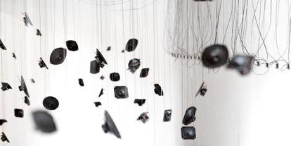 La instalación 'Vibrant Disturbance' de Christian Skjødt.