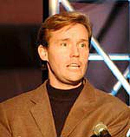 Michael Robertson, director ejecutivo de Lindows.