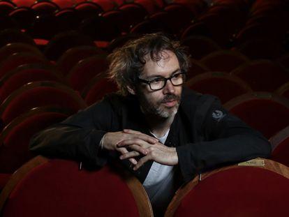 El músico James Rhodes, en el teatro Pavón de Madrid, en una imagen de 2018.