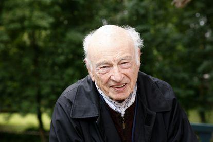 Edgar Morin, en París en 2013.