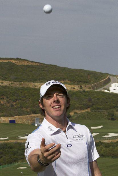 Rory McIlroy, el mes pasado en Málaga.