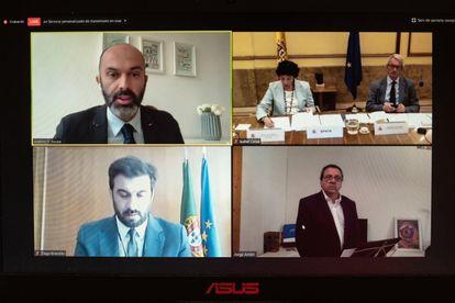 La ministra de Educación, Isabel Celaá inaugura el congreso Virtual Educa Connect.