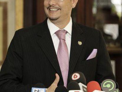 El nuevo director de Inteligencia de Costa Rica, Celso Gamboa.