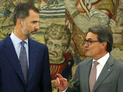 """Artur Mas ante su visita a Felipe VI: """"Vengo en son de paz"""""""