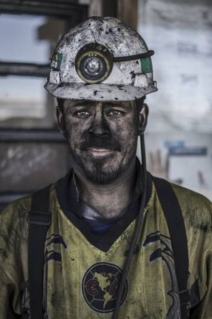Manuel Rico (29 años), trabajador de la mina en San José del Aura.
