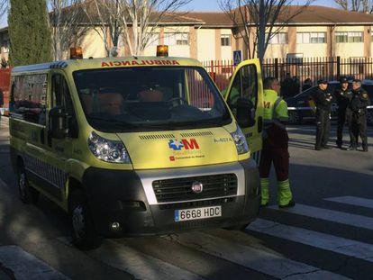 Una ambulancia del Summa 112.