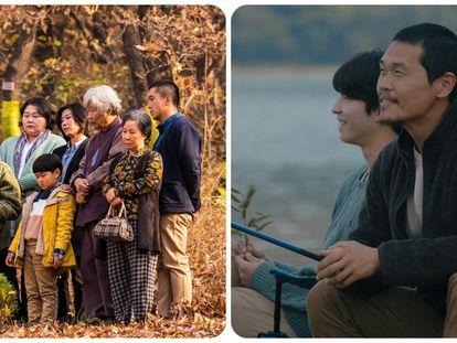 Fotogramas de 'Move the grave' y 'A distant place' que se presentarán en el INDIE & DOC Fest de Cine Coreano.