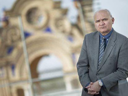 Manuel Medina, director del Consejo de Transparencia y Protección de Datos de Andalucía, en su sede.